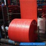 Tela tecida verde do Polypropylene de China