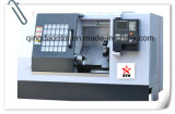 Kleine CNC-Drehbank-Maschine mit geneigtem Bett für maschinell bearbeitenYachting Zubehör (CK6150)