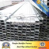 Galvanisiertes Stahlgefäß-MetallschlauchGalvanzied quadratisches hohles Gefäß