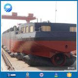 船の進水のエアバッグ