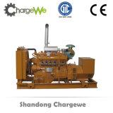 Generador de gas alto de la biomasa 600kw de los pedazos de madera de la eficacia con las piezas de Genset