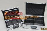 Серебряный алюминиевый случай комплекта инструмента с случаем комплекта инструмента Handlesilver алюминиевым с ручкой