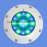 Luz plástica de la piscina del BALNEARIO de la casa LED con el cambio del color de Muti