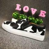 Sapatas novas da forma da chegada, sapatilhas de couro, senhora Calçados, estilo no.: sapatas ocasionais