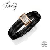 De Kristallen van de Juwelen van het lot van Eenvoudige Ring Swarovski