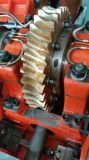 Máquina cortando e vincando automática cheia com seção de descascamento