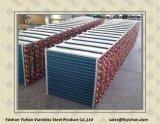 Tuyau en acier inoxydable pour radiateur tubulaire