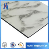ACP matériel de marbre de décoration en aluminium