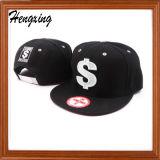 Snakbackの帽子6のパネルの刺繍の帽子は止まる