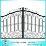 Valla de seguridad de aluminio de la cerca de jardín de la puerta de la puerta de aluminio de la fundición de aluminio
