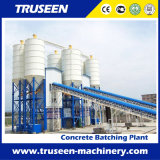 planta de tratamento por lotes concreta da grande capacidade da correia 90m3/H