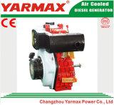 Yarmax空気によって冷却される単一シリンダー170fディーゼル機関