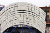 販売のためのセメントのフランジのタイプセメント・サイロのための200tサイロ