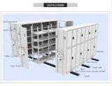Étagères mobiles d'archives de mémoire en métal d'utilisation de bureau