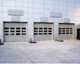 Puerta de cristal del garage de /Aluminium de la puerta del garage del marco de las puertas de aluminio del garage
