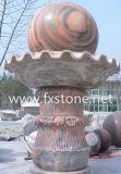 Fountain Ball de granito, esfera de mármore, bola flutuante de granito