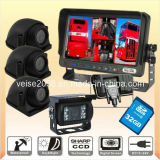 Double-Decker DVR Quad Monitor Camera System (DF-737AI314DVR)