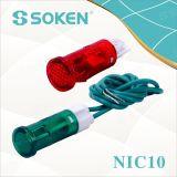 Indicador luminoso Nic10 con lámpara de neón