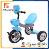 Triciclo musical para crianças de três cores para venda
