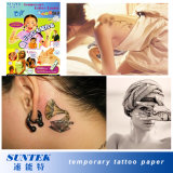 Etiqueta engomada temporal colorida del tatuaje del bebé de Fashinable del papel del tatuaje
