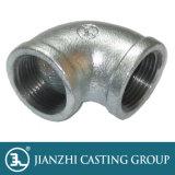Mit einem Band versehene galvanisierte schwarze Krümmer-formbares Eisen-Rohrfittings