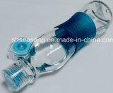 Tampão plástico com o tampão do silicone/frasco/tampa do frasco (SS4309)