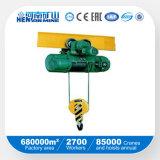 Élévateur électrique de câble métallique de la qualité 1ton 5ton 10ton 20ton \ élévateur de levage à chaînes électrique
