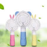 De hete Draagbare Handige Ventilator van de Ventilator USB van het Konijn van de Prinses Mini Handbediende