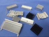 알루미늄 열 싱크 밀어남 단면도 열 싱크 방열기 ISO 9001