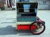 Trilladora movible del arroz y del trigo