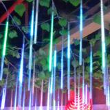 50cm 54LED 10tubes LED Meteor-Dusche-Regen-Lichter für die Weihnachtsdekoration, die draußen für Weihnachtspartei-Hochzeiten beleuchtet