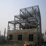 Taller pesado Three-Storey de la estructura de acero para el uso químico