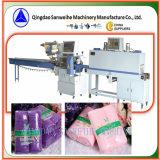 Машина упаковки Shrink полотенец группы автоматическая (SWC-590 SWD-2500)