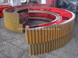 De Bal van het cement maalt de Grote Ring van het Toestel met 15m Diamter