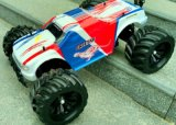 4WD Brushless RC Car - Rouge Couleur