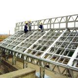Taller de acero gris de la construcción del palmo grande del color