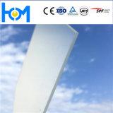 glace Tempered de feuille en verre en verre modelé de panneau solaire de l'arc 250W