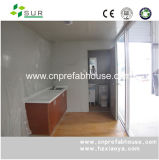 Casa pré-fabricada móvel luxuosa do recipiente da construção de aço