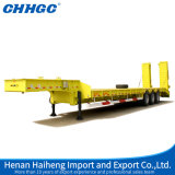 4 assi 80 Tons Low Bed Semi Trailer con Hydraulic Ladders da vendere