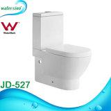 Cerámica blanca de la pared Cuelgue la plaza Cuarto de baño WC