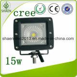 Luz de trabajo de la viruta 15W LED del CREE del poder más elevado 15W