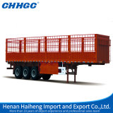 Sale caldo 3axle Fence Stake Semi Trailer Cina Best Warehouse Storage Goods Trailer