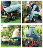 Тележка места работы сада завальцовки подвижная с мешком инструмента