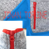 Veste en microfleece pleine à zipper