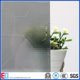 Clear Water Fall Pattern Vidro / Rolled Glass / Figured Glass / Decrative Glass