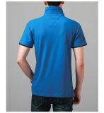 2017 рубашек пола CVC60/40 лета обыкновенных толком для людей, тенниски пола