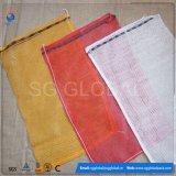 Красный поли мешок швырка сети сетки
