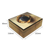 Cadre de empaquetage en bois de 8 fentes pour la montre