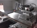 Torno grande del CNC de la base plana del alesaje de eje de rotación del sistema de Siemens/GSK