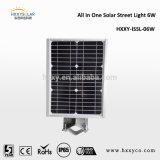 Luz de rua solar do preço barato novo do projeto com liga de alumínio